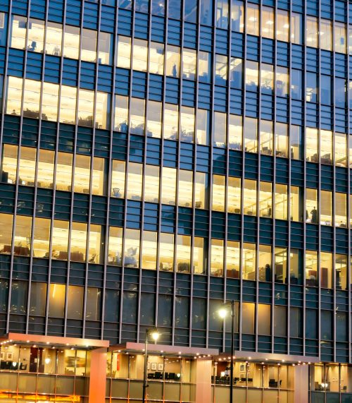 Office Buildings Night